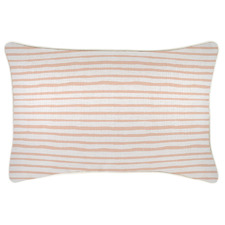 Piped Edge Stripe Rectangular Outdoor Cushion
