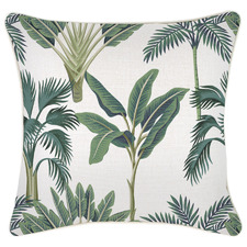 Piped Edge Del Coco Square Outdoor Cushion