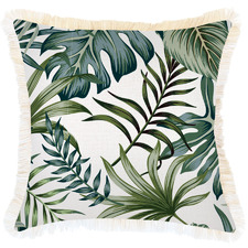 Coastal Fringe Boracay Square Outdoor Cushion