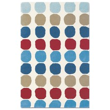Primary Pure Wool Abacus Rug