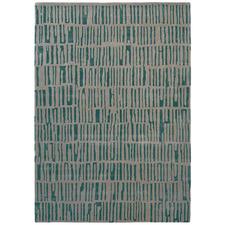Blue & Grey Skintilla Harlequin Hand-Tufted Rug