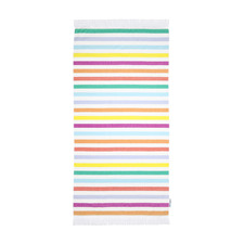 Striped Cotton Fouta Beach Towel