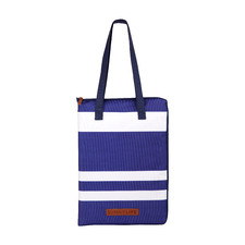 Blue Striped Dolce Vita Picnic Blanket