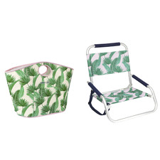 2 Piece Kasbah Beach Seat & Bag Set