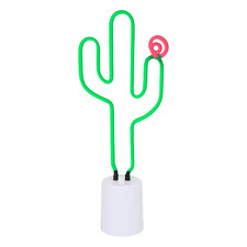 Kids' Cactus Neon Night Light