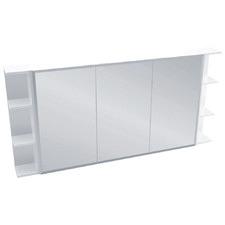 Nievo 3 Panel Shaving Cabinet with 6 Shelves