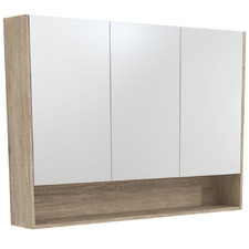 120cm Uni Mirror Cabinet with Side Panels & Undershelf