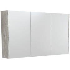 120cm Uni Mirror Cabinet with Side Panels