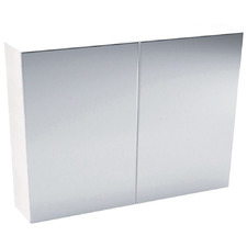 Mirror Pencil Edge 2 Door Shaving Cabinet