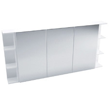 150cm Pencil Mirror Set with 6 Shelves