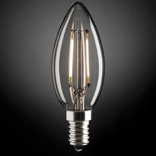 E14 Fancy Candle LED Globe (Set of 4)