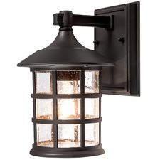 Dark Bronze Louis Wall Lantern