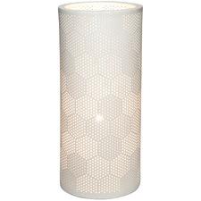 Matt White Porcelain Louise Table Lamp
