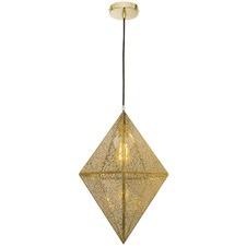 Brass Denver Diamond Pendant