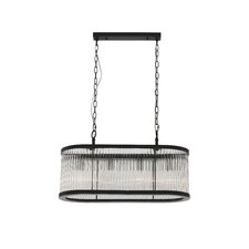 Oblong Canterbury Pendant Light