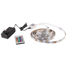 7.2W Plastic LED Strip Light with Remote Control