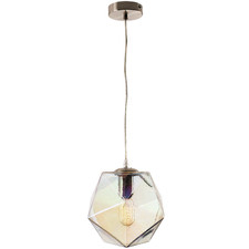 Pandora Geometric Glass Pendant Light