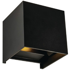 Noah Cube Metal Exterior Wall Light
