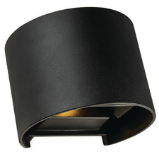 Nico Metal & Glass Exterior Wall Light