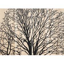 Mangowood Reverse Stunning Tree Small Artwork