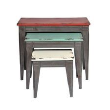 Metal Tables (Set of 3)