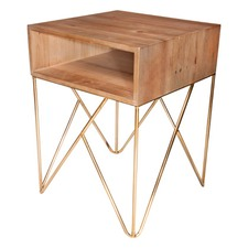 Luxe Infinity Side Table