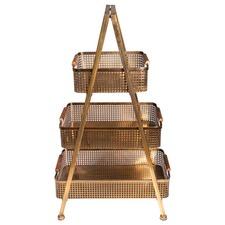 Luxe Brass Storage Pyramid