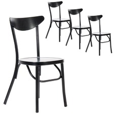 Meli Outdoor Stackable Dining Chairs (Set of 4)