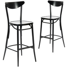 Meli Outdoor Bar Chairs (Set of 2)