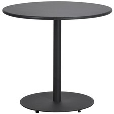Round Movida Steel Outdoor Dining Table
