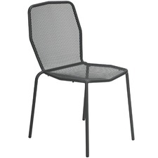 Trevi Steel Outdoor Dining Chairs (Set of 4)