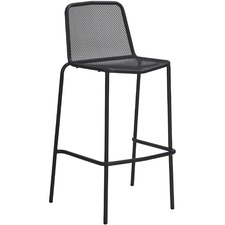 Trevi Steel Outdoor Bar Chairs (Set of 2)