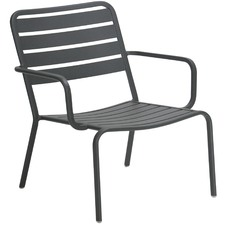 Low Vespa Aluminium Outdoor Armchair