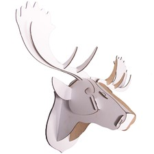 Wall Mounted 3D Moose Puzzle