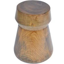 Chess Teak Wood Stool
