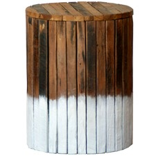 Driftwood Teak Wood Stool