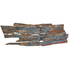 Look Salvage Metal & Wood Wall Accent
