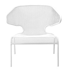 Movida Steel Outdoor Lounge Chair