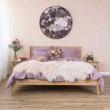 Natural Vintage European Oak Queen Bed