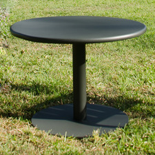 Round Movida Steel Outdoor Coffee Table