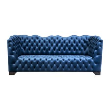 Royal Blue 3 Seater Coco Sofa
