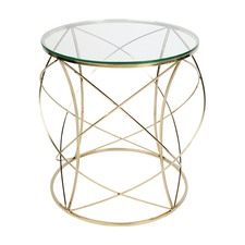 Gold Sophie Side Table
