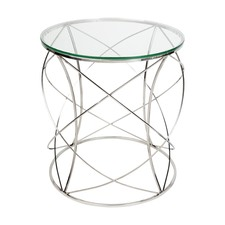 Chrome Sophie Side Table