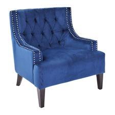 Navy Sloane Arm Chair
