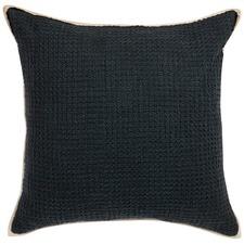 Black Double Boucle Cushion