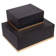 Marina Storage Boxes (Set of 2)