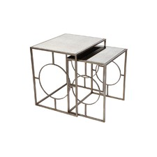 Boston Mirrored Nesting Tables