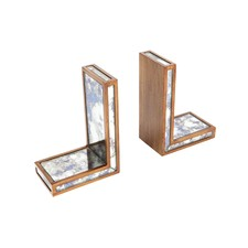 Catrall Mirrored Bookends