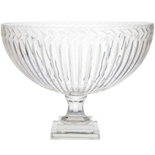 Marseille Cut Glass Fruit Bowl