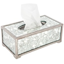 Bardot Rectangular Mirrored Tissue Box